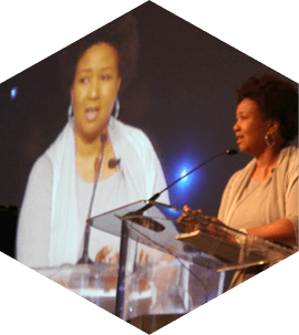 Mae Jemison speaking at The 2012 Symposium